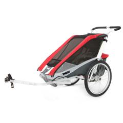 THULE Kinderfahrradanhänger Chariot Cougar 1 Red - babymarkt de