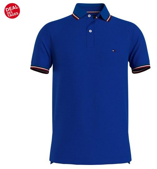 Bild zu [Tagesdeal] TOMMY HILFIGER Slim Poloshirt (Gr. S – 3XL) für je 47,84€ (VG: 59,79€)