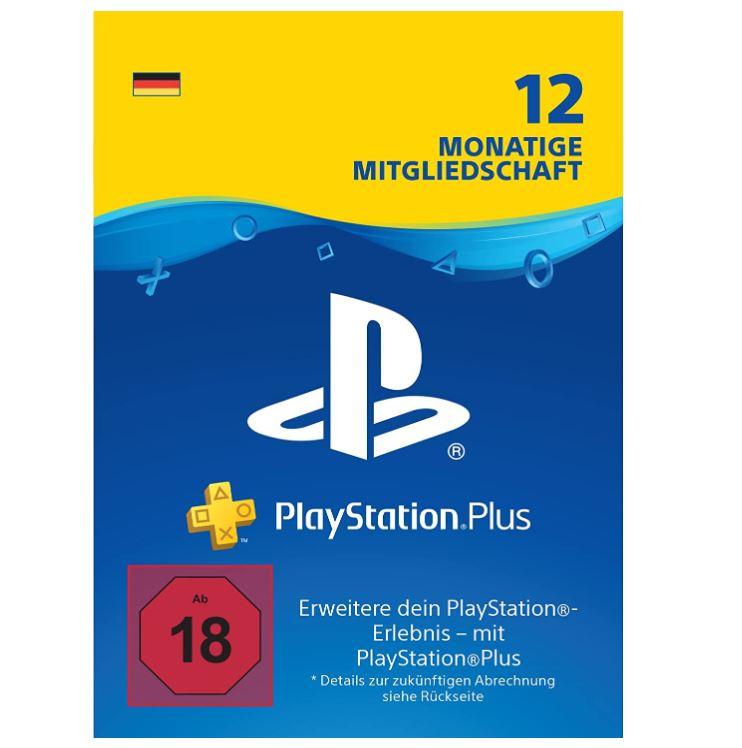 Bild zu 12 Monate Sony PlayStation Plus Mitgliedschaft für 44,99€ (sonst 59,99€)