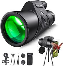Bild zu Aikove HD Monokular Teleskop 12×50 für 17,95€