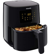 Amazon de Philips HD9252 90 Airfryer - Das Original (Heißluftfritteuse, 1400W, für 2-3 Pe[...]