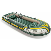 Boot Seahawk 4 SET inkl Alu-Paddel   Pumpe #68614, bis 480kg, 351x145x48cm eBay