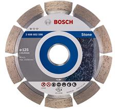 Bosch Professional Diamanttrennscheibe Standard für Stone (für Stein, 125 x 22,23 x 1,6