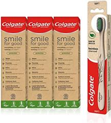 Colgate Umweltfreundliches Set mit Colgate Smile for Good Protection Öko-Zahnpa[...]