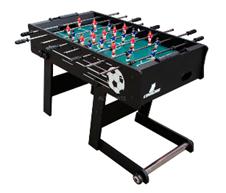 Cougar Scorpion Kick Fußballtisch, Kickertisch schwarz