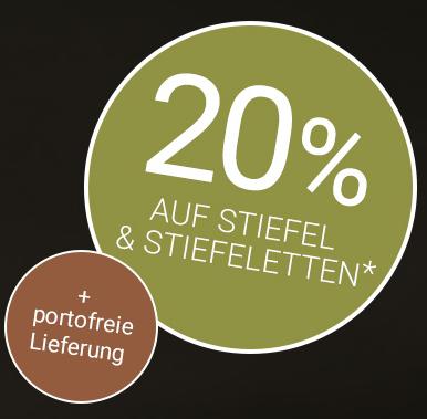 Bild zu Gebrüder Götz: 20% Rabatt auf Stiefel und Stiefeletten