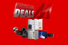 Bild zu MediaMarkt Breaking Deals so z.B. APPLE Watch Nike Series 5 (GPS + Cellular) 44mm Smartwatch ab 369€ (VG: 411,90€)