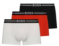 Bild zu 3er Pack Boss Boxershorts Herren für 25,72€ (Vergleich: 39,95€)