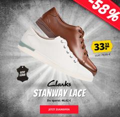 Bild zu Clarks Stanway Lace Herren Lederschuhe für 37,28€ (VG: 48,33€)