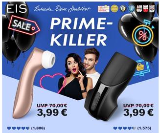 Bild zu Eis.de: Satisfyer 'Men Vibration' mit Akku oder Satisfyer 'Pro 2+' für je 3,99€ (ab 29,95€ mitbestellbar)+ weiteres Spielzeug günstig