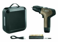 Bild zu Bosch Akkuschrauber-Set YOUseries Drill (10 Schrauberbits, Magnet-Bithalter, Koffer, USB-Ladekabel) für 49€ (Vergleich: 63,95€)