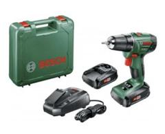 Bild zu Bosch Akkubohrschrauber PSR 1800 LI-2 (18 V, 1,5 Ah, 2 Akkus, 18/38 Nm) für 92,90€ (Vergleich: 133,90€)