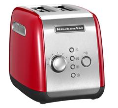 Bild zu KITCHENAID 5KMT221EER Toaster Rot (1100 Watt, Schlitze: 2) für 59,49€ (VG: 71,39€)