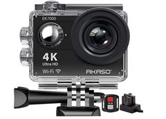 Bild zu AKASO Action Cam mit 4K und 170°Ultra Weitwinkel für 32,99€