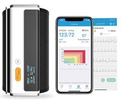 Bild zu Wellue Armfit Plus Blutdruckmessgerät mit EKG-Funktion für 59,99€