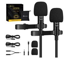 Bild zu EIVOTOR Lavalier Mikrofon für 12,59€