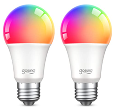 Bild zu Gosund E27 RGB Wifi LED-Birne im Doppelpack für 11,54€