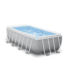 INTEX PrismFrameRectangular Pool-Set inkl GS Filterpumpe und Sicherheitsleiter, eBay