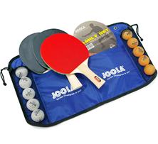 JOOLA Tischtennis-Set Family , 4 Tischtennisschläger 10 Tischtennisbälle Tasche Amazo[...]