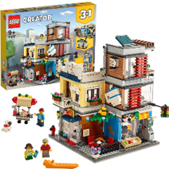 LEGO 31097 Creator Stadthaus mit Zoohandlung Café, Konstruktionsspielzeug