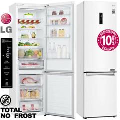 LG Kühl Gefrierkombination Kühlschrank NoFrost Premium Weiß 203cm 384L LED Kombi eBay
