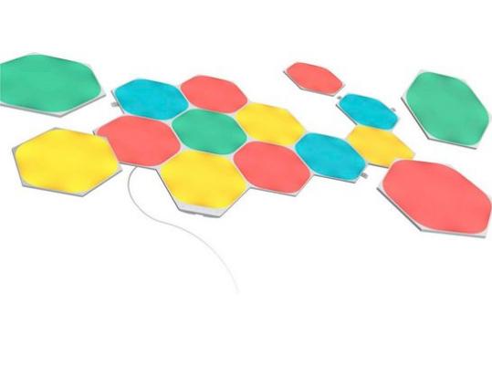 Bild zu Otto: 20% Rabatt auf Wohnen, z.B. nanoleaf LED Panel Shapes Hexagons Starter Kit 15 PK für 243,99€ (VG: 296,90€)