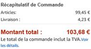 Passez votre commande - Processus de paiement Amazon fr