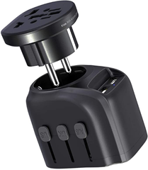 Reiseadapter, CHUNNUO Universal Travel Adapter Amazon de Elektronik