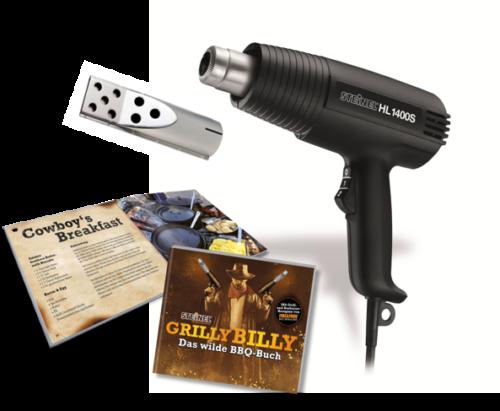 Bild zu Steinel Heißluftpistole HL 1400 S für 14,99€ (Vergleich: 19,99€)