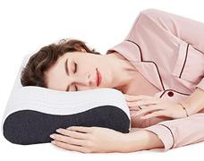 SIKAINI Memory Foam Kissen Nackenstützkissen Orthopädisches Kissen Schlafkissen für Erwac[...]