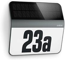 Steinel LED Solar Leuchte XSolar LH-N anthrazit, Dämmerungsschalter, 1100 mAh LiFe-Akku, [...]