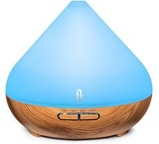 TaoTronics Aroma Diffuser 300ml Ultraschall Luftbefeuchter Diffusor BPA-Free Aromatherapi[...]