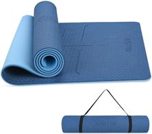 AISITIN Yogamatte Gymnastikmatte rutschfest Blau sportmatte Fitnessmatte aus hochwertigen[...]