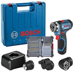 Bosch Professional 12V System Akku Bohrschrauber GSR 12V-15 FC (inkl 1x2 0 Ah Akku, Ladeg[...]
