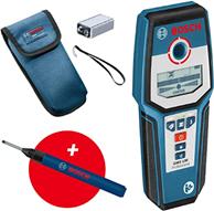 Bosch Professional digitales Ortungsgerät GMS 120 (Bohrlochmarker, max Detektionstiefe Ho[...]