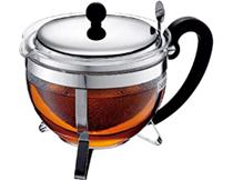 CHAMBORD Teebereiter mit Edelstahlfilter und Edelstahldeckel, 1 3 l Amazon de Küche, Haus[...]