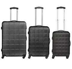 Bild zu Bannisters New York Koffer Empire Hartschalenkoffer 3er Set in Schwarz für 149,20€ (VG: 179€)