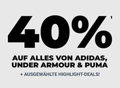 Bild zu MySportswear: 40% Rabatt auf alle Puma, Adidas & Under Armour Artikel