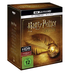 Bild zu Harry Potter 4K Complete Collection (16-Discs) 4K Ultra HD Blu-ray für 66,49€ (Vergleich: 94,99€)