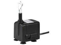 Bild zu Decdeal Wasserpumpe 450L/H 6W mit 2 Düsen und 4 Saugnäpfe für 9,99€