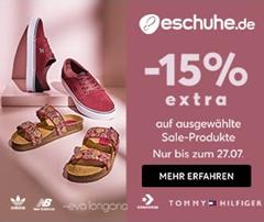 Bild zu eschuhe.de: bis zu 70% Rabatt auf ausgewählte Sale Produkte + 15% Extra-Rabatt