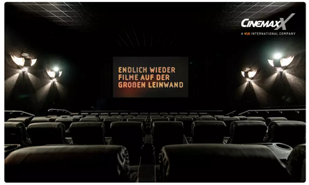 Bild zu 5 x 1 Kinogutschein für alle 2D-Filme in den CinemaxX Kinos für 25€ (oder 2 Tickets für 12€)