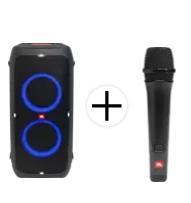 Bild zu JBL Partybox310 Party Lautsprecher + JBL Partybox Micro M100 für 399€ (Vergleich: 499€)