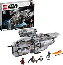 LEGO 75292 Star Wars Der Mandalorianer – Razor Crest, mit Baby Yoda und weiteren Minifigu[...]