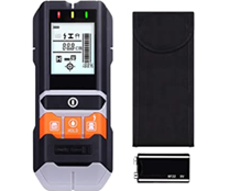 Ortungsgerät, Metalldetektor, 5 in 1 Wand Scanner Detektor, Stud Finder, mit Großer LCD, [...]
