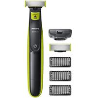 Philips QP2520 30 OneBlade, Rechargeable, 100 % étanche, 3 sabots clipsables barbe de 3 j[...]
