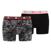 Puma Boxershorts Camo Boxer 8er Pack schwarz - Fussball Shop