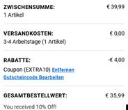 Sale - EXTRA10