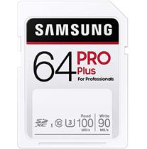 Samsung PRO Plus 64GB SDXC UHS-I U3 100MB s Full HD 4K UHD Speicherkarte Amazon de Elektr[...]