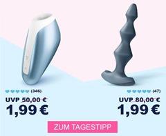 Bild zu Eis.de: Satisfyer Lolli-Plug 1 14 cm + 6 Gratisartikel für 1,99€ (VG: 20,45€) – Mindestbestellwert 29,95€